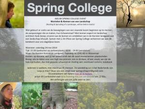 SpringCollege_24mei14Flyer_Wortelen&Kiemen